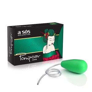 Cone para pompoarismo A Sós na cor verde - 57g