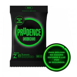 Preservativo Prudence Neon - Brilha no escuro