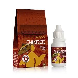 Excitante Feminino Comestível em gotas Chinese - 10ml (AS148)