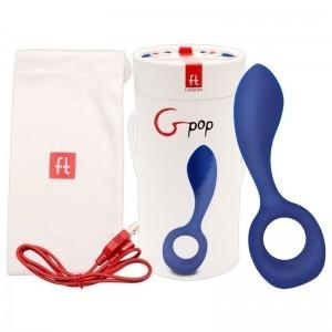 Estimulador de prostata e ponto G Gpop - Royal Blue (FT172)