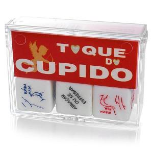 Dados Toque do Cupido - 3 peças