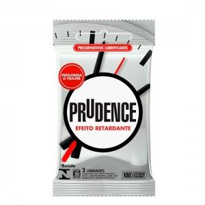 Preservativo Prudence Efeito Retardante c/ 3 unidades